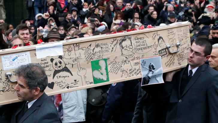 Instrumentos de Dios: Charlie Hebdo